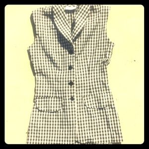 Gingham Pinup Blouse